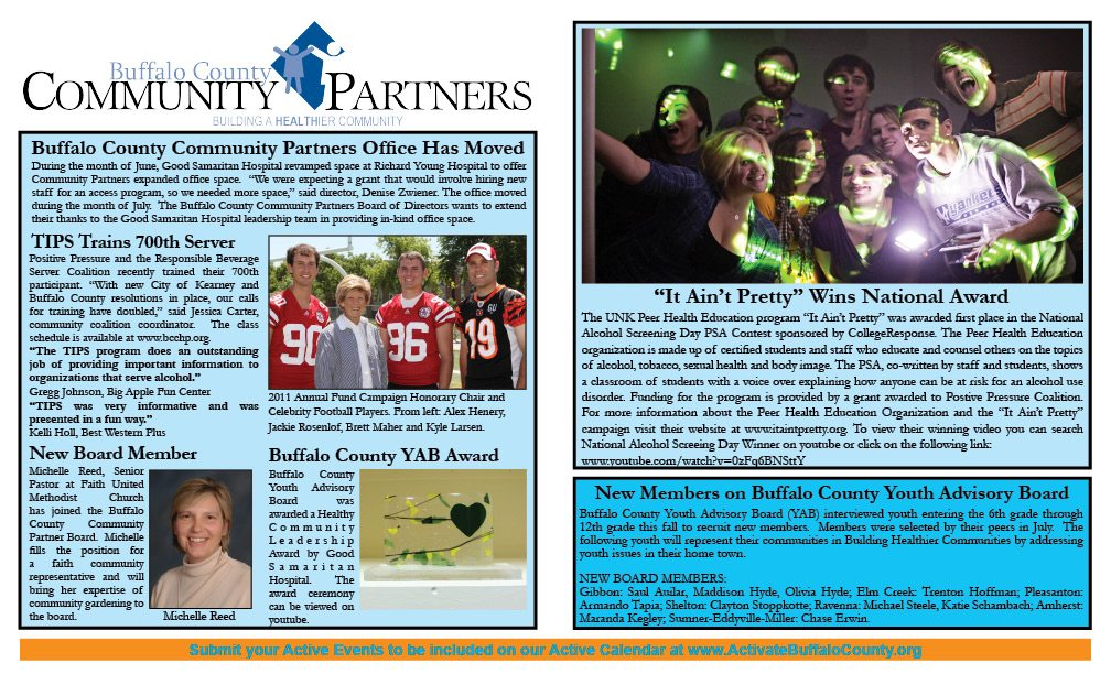 July Newsletter page 1