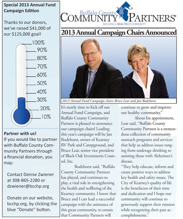 2013 Annual Fund Campaign Newsletter Now Available Online