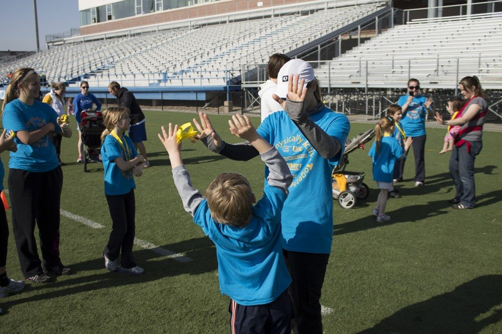 Over 2,300 families registered to participate in the PATH Walk, part of Healthy Kids Weekend.