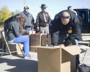 Over 255 pounds of unwanted and unused medication was collected at the October 2013 Prescription Drug Take-Back.
