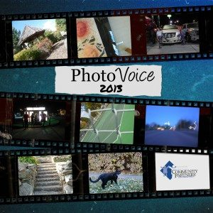 The 2013 PhotoVoice book cover.
