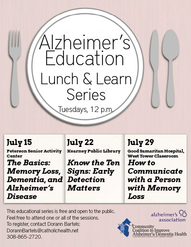 Alz LunchandLearn Flyer