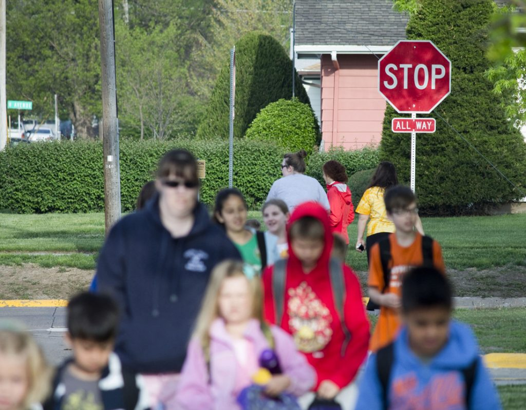 It's an Active Spring: Bike to School Day, Walk Out On Your Job