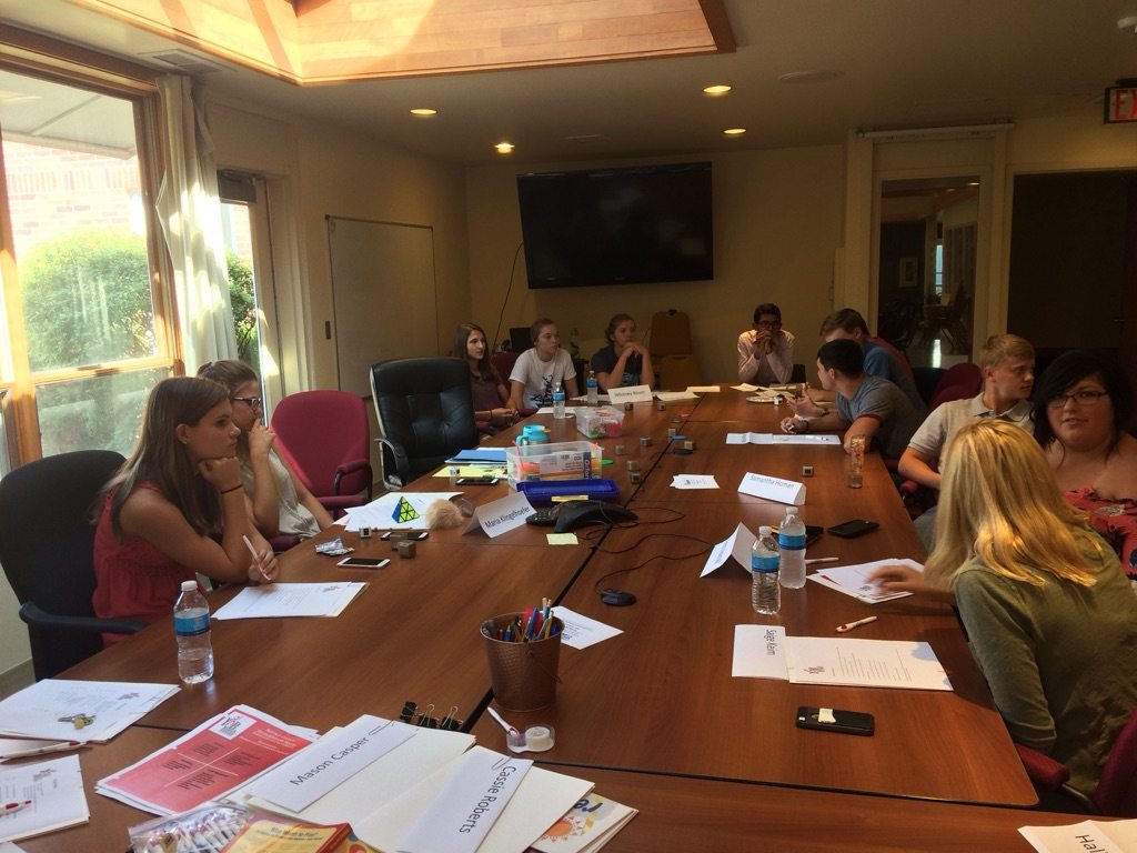 Youth Advisory Board Holds First Yearly Meeting