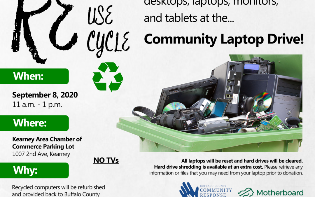 Community Laptop Recycle Drive